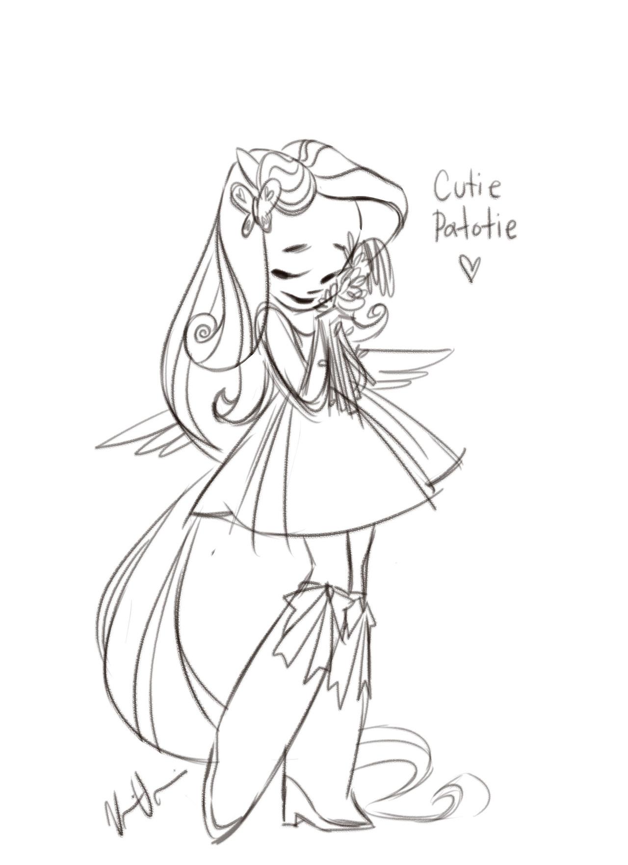 fluttershy (equestria girls) drawn by