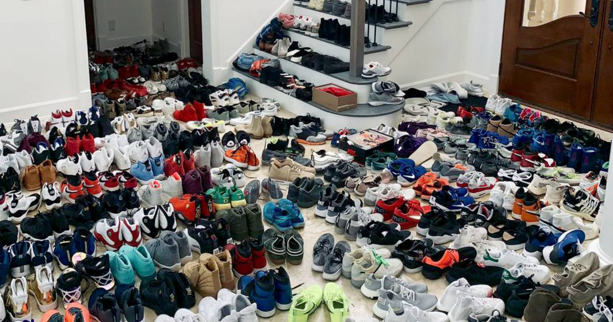 Toronto Blue Jays Pitcher Has A Ridiculous Number Of Shoes
