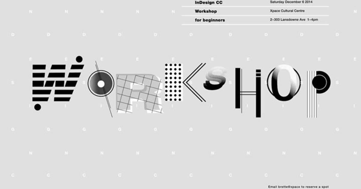 Adobe InDesign CC Workshop