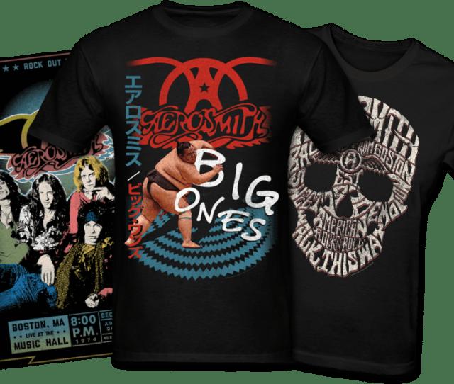 Aerosmith Posters And Tshirts