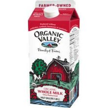 UPC 093966513004 Organic Valley Ultra Pasteurized Whole