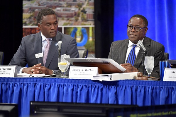 Mtsu Increase In High-ability Students Mcphee
