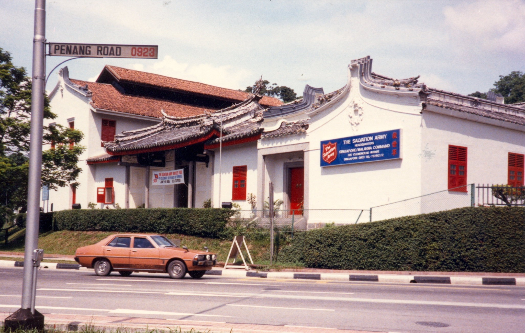 The Salvation Army Singapore History