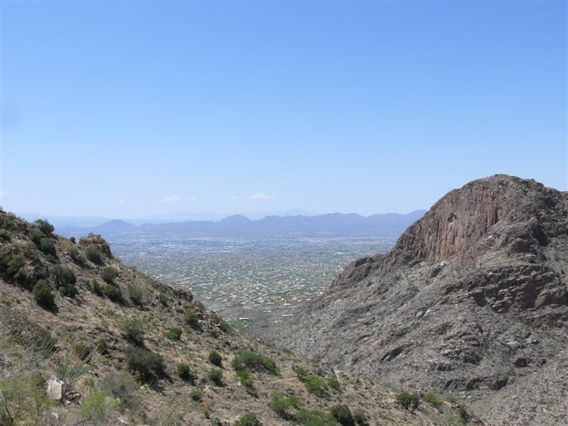 View from the Finger Rock Trail