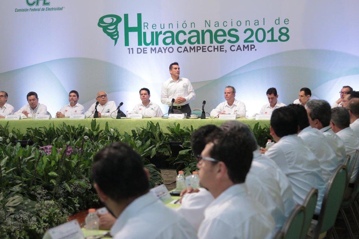 CFE ultima detalles previo a temporada de huracanes
