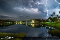 Lightning Storm Palm Beach Gardens