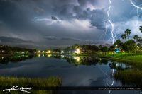 Lightning Storm Palm Beach Gardens
