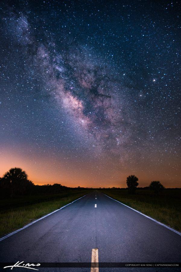 Eye Of Abyss Road Milkyway