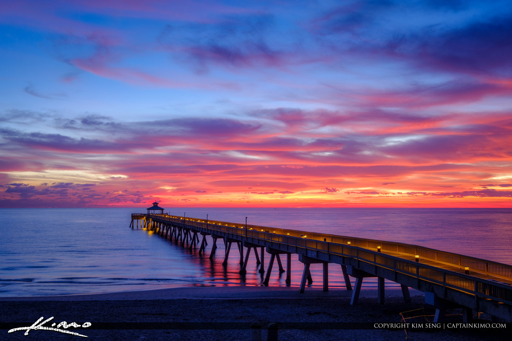 Deerfield Beach International Fishing Pier Entrance to the