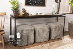 sofa console tables wood seat cover singapore floating top steel base table james furniture 72 x 15 30 h in