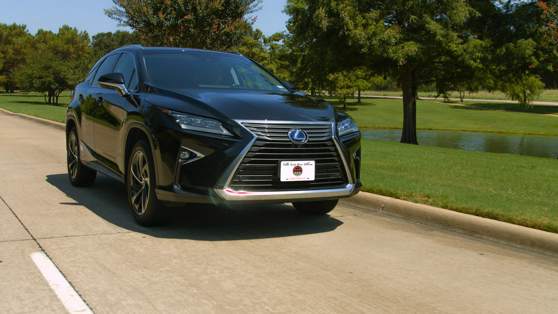 Test Drive 2016 Lexus RX 450h Review Car Pro