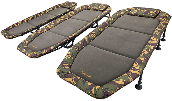 Wychwood tactical flatbed compact bedchair