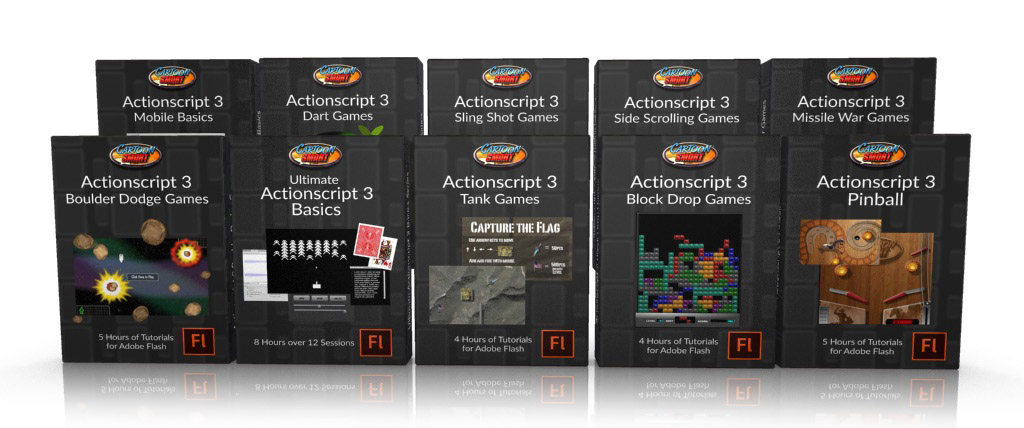 Actionscript 3 Game Development Tutorial Bundle  CartoonSmartcom