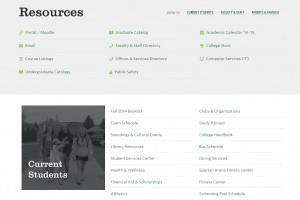 2014 Website Redesign Project · Castleton University