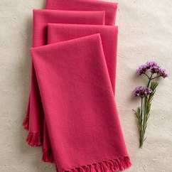 Kitchen Napkins Lights For Essential Napkin Set Of 4 Pink Linens Beautiful Designs By April Cornell