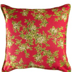 Kitchen Cushion Covers Glad Tall Bags Mistletoe Cover Attic Sale Linens