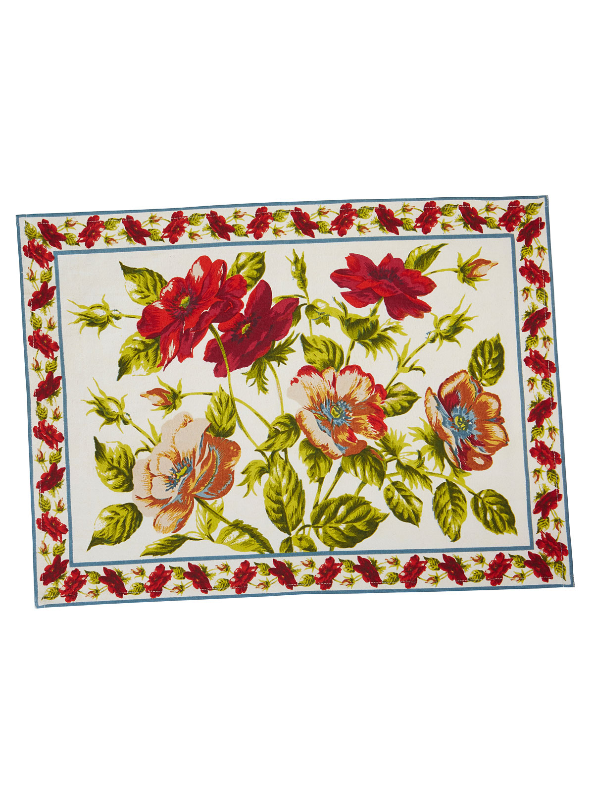 poppy placemat set of