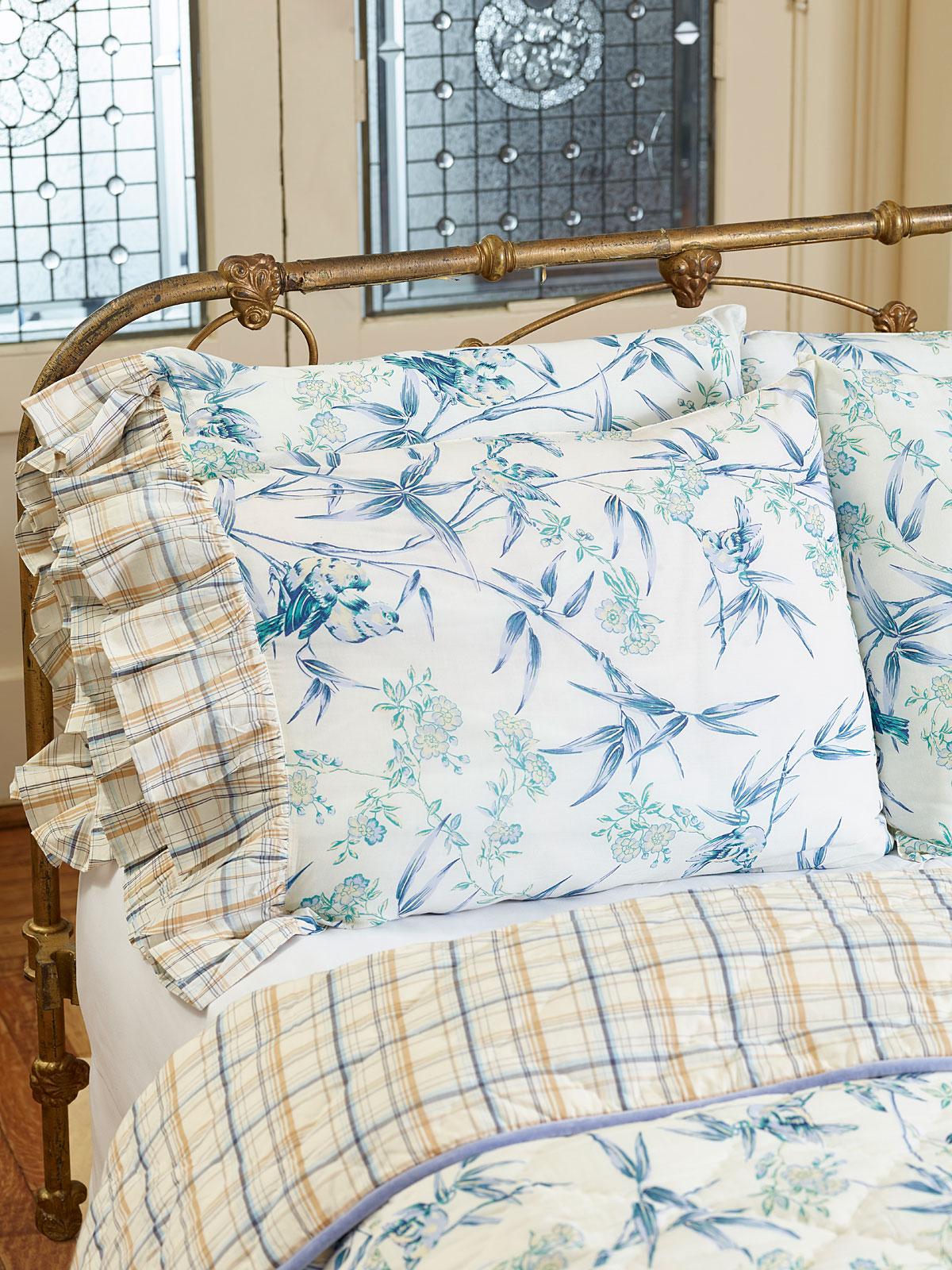 bamboo garden pillowcase