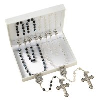 Wedding Rosaries Gift Set - Wedding