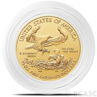 Buy 27mm Coin Capsules for 1/2 oz Gold Eagles, Krugerrands