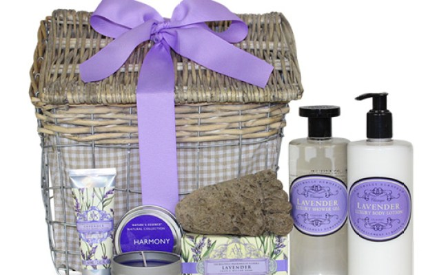 Relaxation Lavender Spa Gift Chelsea Market Baskets