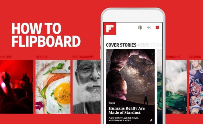 تطبيق Flipboard - أكثر التطبيقات تحميلاً