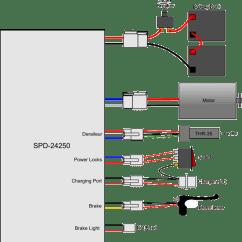 Electric Scooter Motor Controller Wiring Diagram Mtd Yard Machine Razor Schematic E100 Schema Battery Older