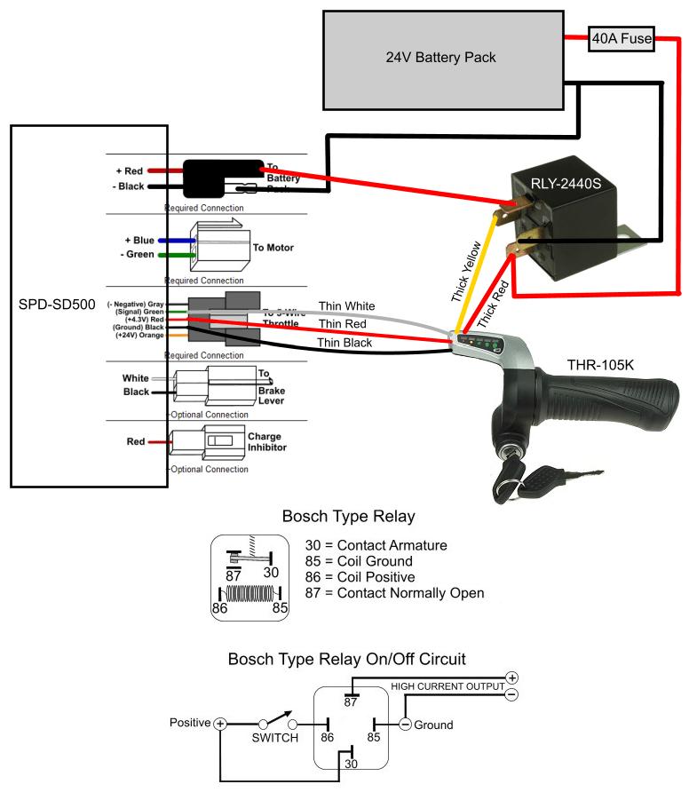 e bike throttle wiring diagram