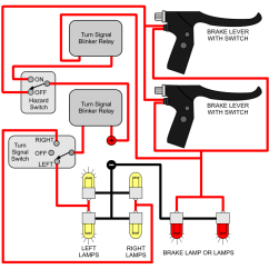 Wiring Diagram Turn Signal Relay S Plan Heating System Am2 Installing Signals Electricscooterparts Com Support