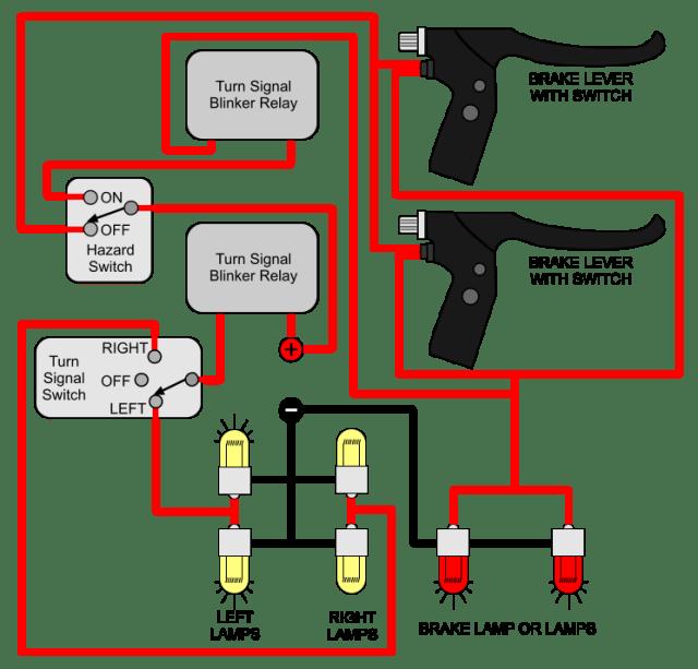 turn-signal-ke-hazard-light-wiring-diagram-for-electric-bike Ididit Turn Signal Wiring Diagram on