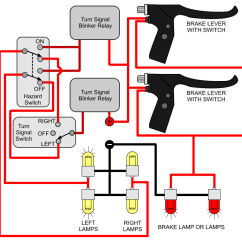 Pit Bike Wiring Diagram Electric Start Opel Corsa Lite Radio Installing Turn Signals : Electricscooterparts.com Support