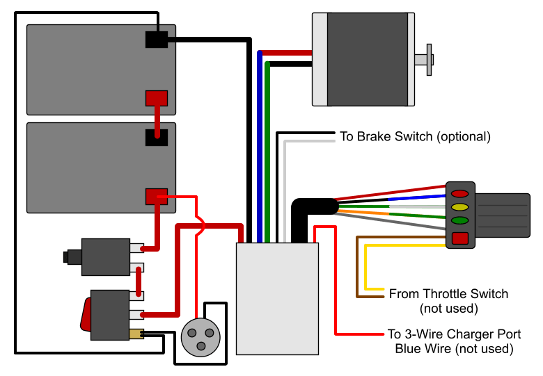 Motor Furthermore Electric Scooter Wiring Diagrams On Wiring Diagram