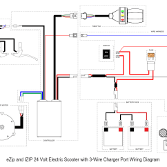 Electric Scooter Wiring Diagram 240 Volt Plug Australia Ezip 450 Needed