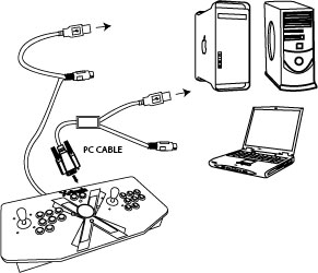 Swell Usb Joystick Wiring Diagram Auto Electrical Wiring Diagram Wiring Cloud Hisonuggs Outletorg