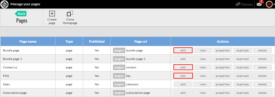 Change the metadata of all your pages
