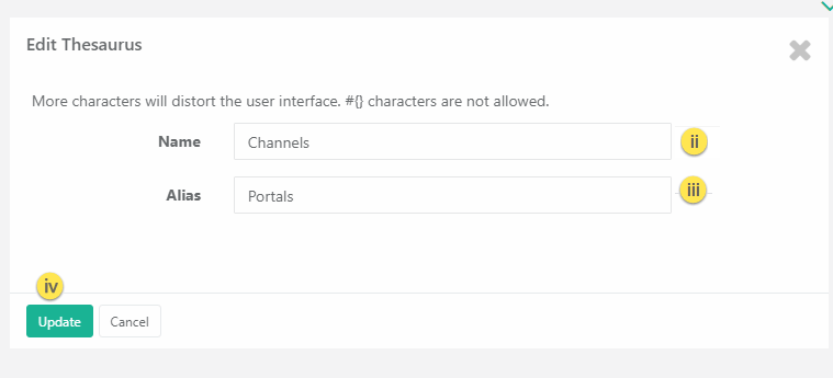 How to Add Edit or Delete Configurable Terms using