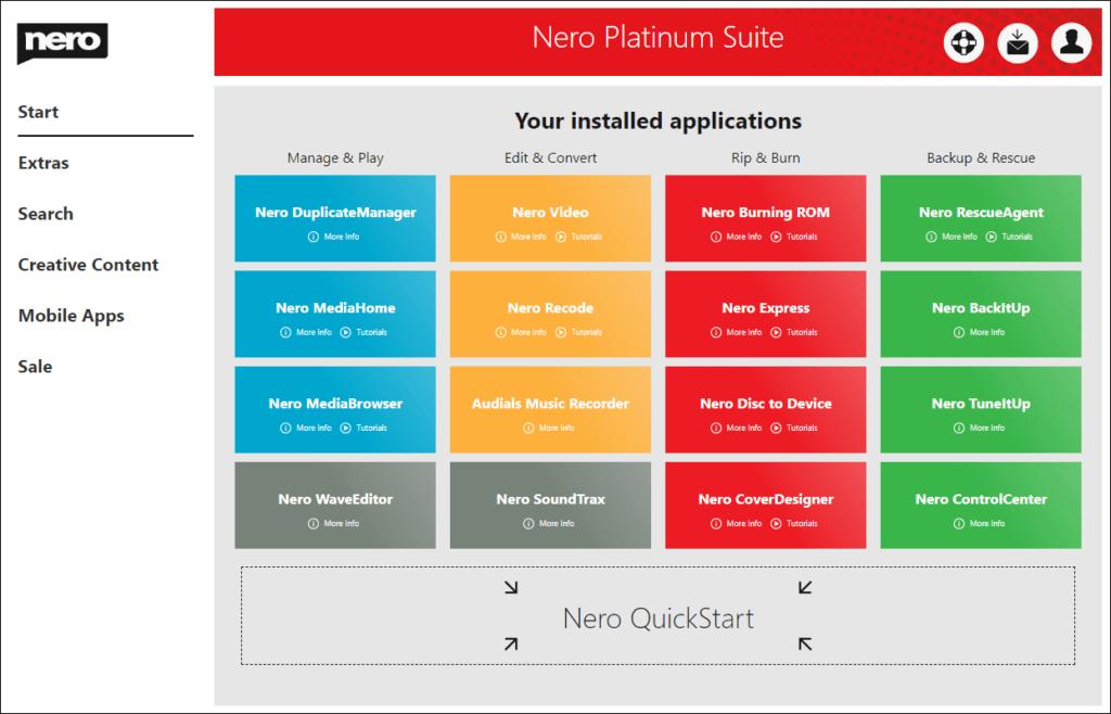 Nero Start中有哪些新功能? : Nero AG