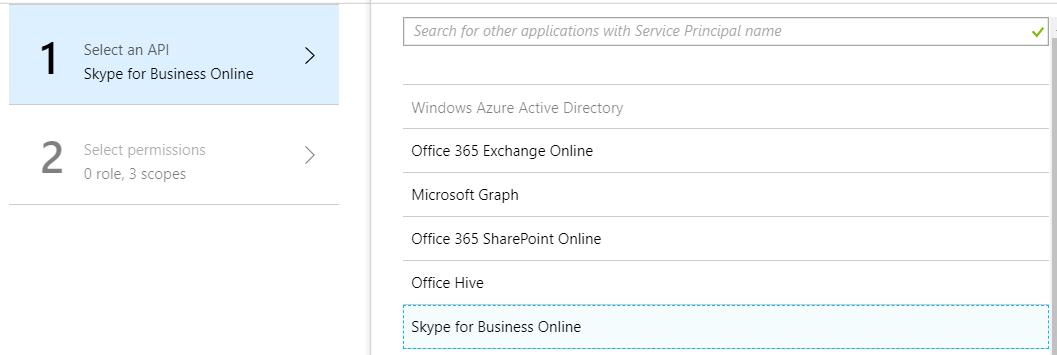 Skype for Business Response configuration : CyberRiskAware