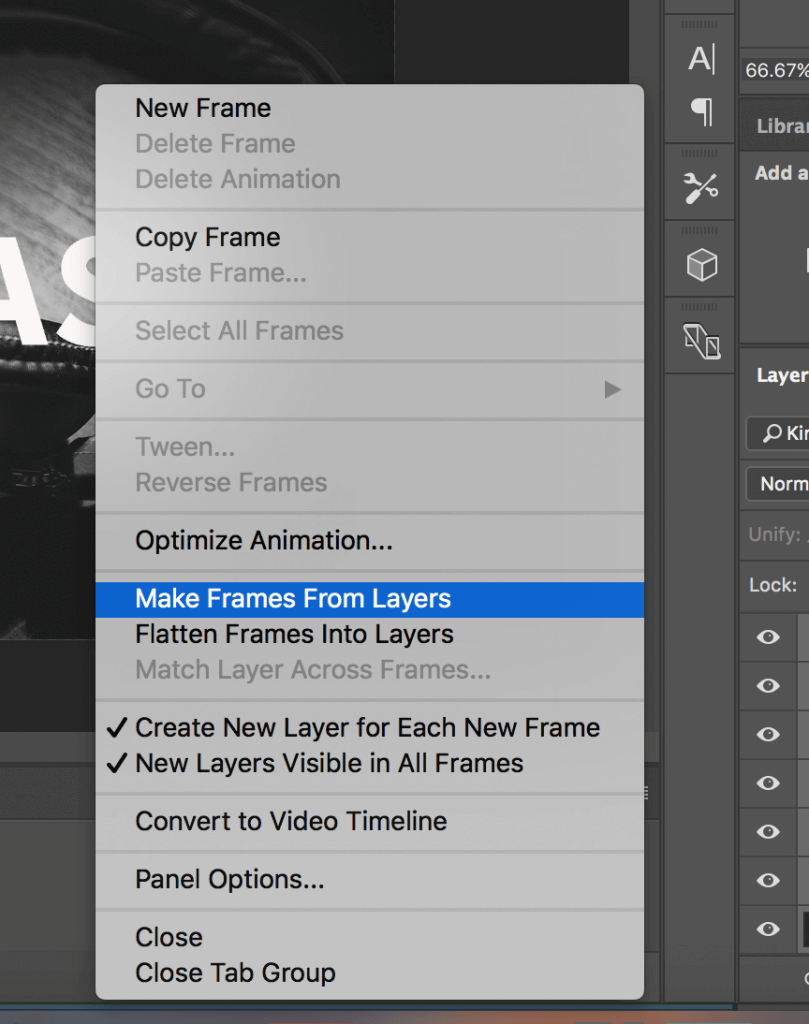 How To Create A Frame In Photoshop : create, frame, photoshop, Create, Animated, Background, Photoshop, Survey, Anyplace