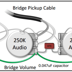 3 Conductor Pickup Wiring Diagram Tecumseh Engines Lawn Mower The Pickups Is Confusing Do You Have A Simplified This Shows How To Connect 2 Single Blend Pot As Part Of Bartolini Pre Wired Harness