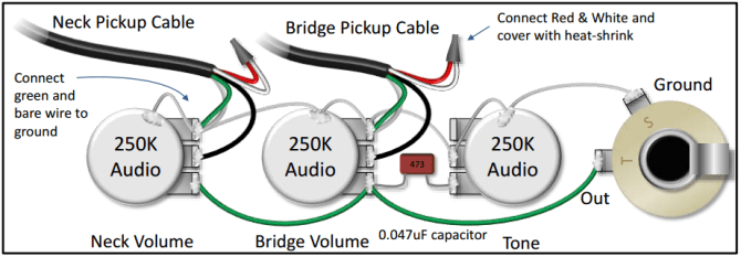 the pickups wiring diagram is confusing do you have a