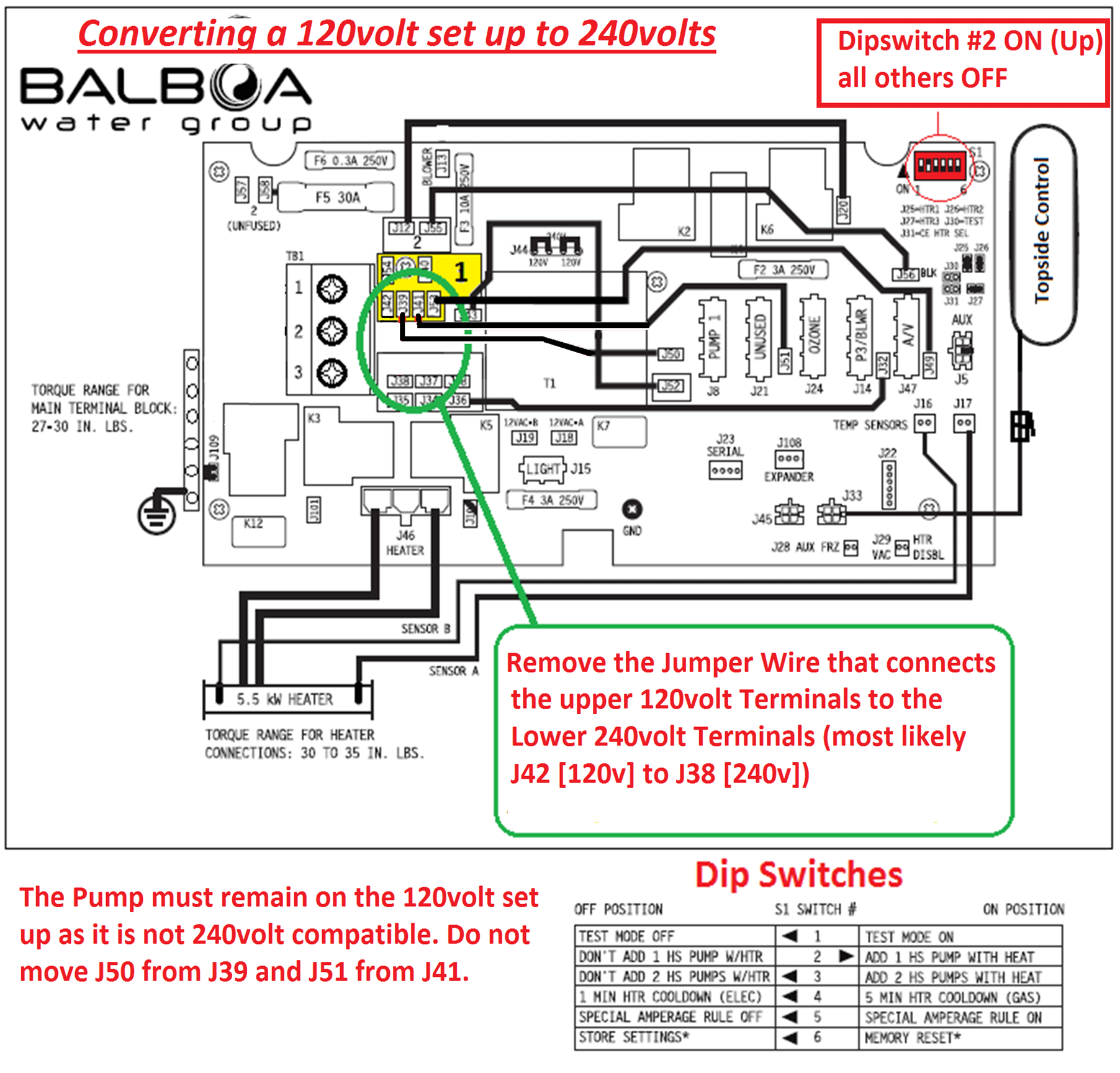 hight resolution of electrical installation converting a 120v balboa bp to 240v
