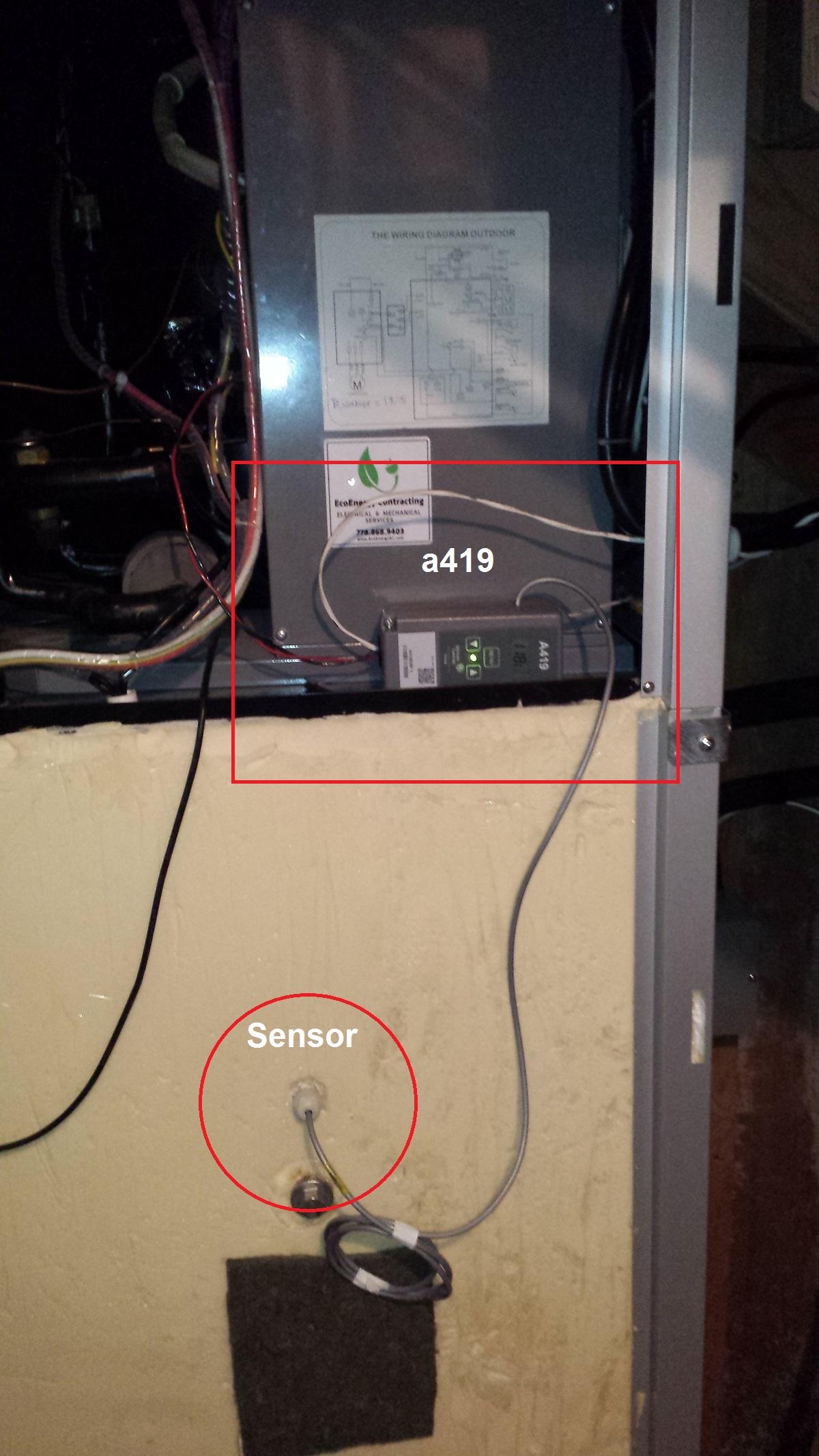 johnson controls a419 wiring diagram ac motor capacitor johnston digital aquastat sunpump