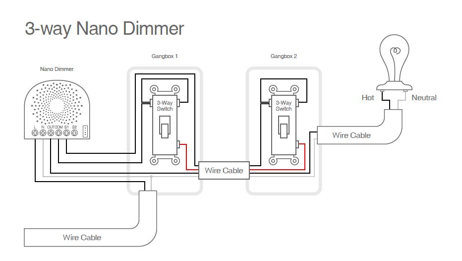 3 way switch wiring diagram variations