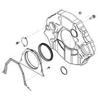 '03-'19 Ram Cummins Rear Main Seal Cover Gasket