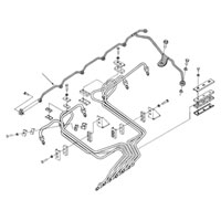 '94-'98 Dodge Cummins Fuel Injector Return Line 3926103