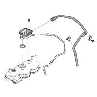 '03-'05, 5.9L Dodge Diesel Crankcase Breather Vent Tube
