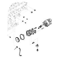97-02 Dodge Cummins Diesel Vacuum Pump OIl Line Fitting