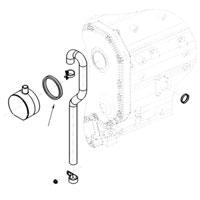 '98.5-'02, 5.9L Dodge Diesel Crankcase Vent Filter O-ring