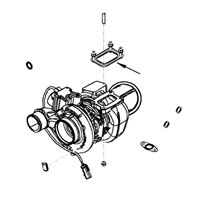'07.5-'12, 6.7L Dodge Cummins Turbo-to-Exhaust Manifold Gasket